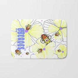 BBEROES Jelly Flower & Bee Bath Mat