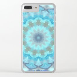 Tomato Flower Clear iPhone Case