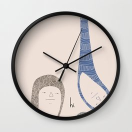 HI. Wall Clock