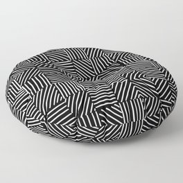 Sketching Abstraction Floor Pillow