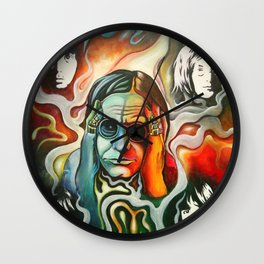 Ozzy's Inspiration Wall Clock
