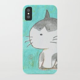 Big head cat iPhone Case