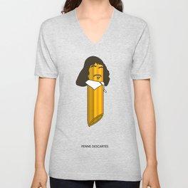 Penne Descartes Unisex V-Neck