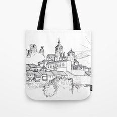 Cogolludo Sunrise (line) Tote Bag