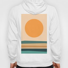 Abstract Landscape 10B Hoody