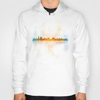 islam Hoodies featuring Jerusalem City Skyline Hq v4 by HQPhoto