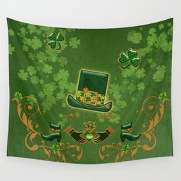 Happy st. patricks day Wall Tapestry