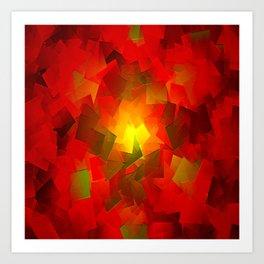 Inner Glow Art Print