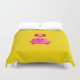 Kirby Love Duvet Cover
