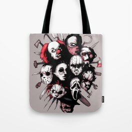Horror Heroes Tote Bag