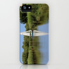 Sailing on the Norfolk Broads iPhone Case