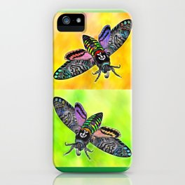 Goth Moth iPhone Case