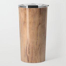 Wood Surface Travel Mug