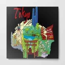 Tokyo Japan Metal Print