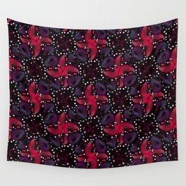 Dark Refined Luxury Pattern Wall Tapestry