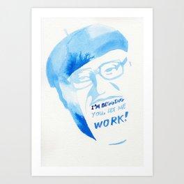 LAST WORDS//OSAMU TEZUKA Art Print