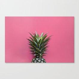 Pink Pineapple Canvas Print