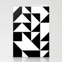 yin yang Stationery Cards featuring Yin Yang by Jar Lean
