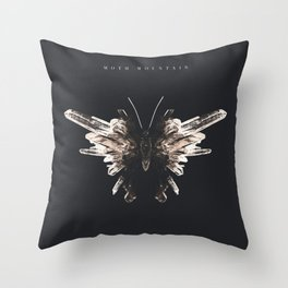 'Moth Mountain' Album Cover  Throw Pillow