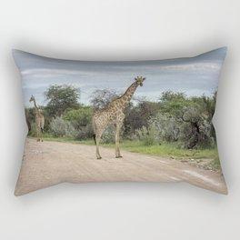 big great giraffe Rectangular Pillow