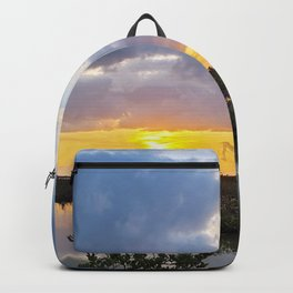 Florida Keys Golden Hour Backcountry Sunset Backpack