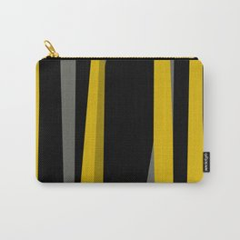 yellow gray and black Carry-All Pouch