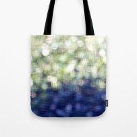 bokeh Tote Bags featuring Bokeh by natalie sales