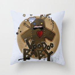 Voodoo Baby Throw Pillow