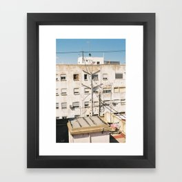 Roof of Valencia Framed Art Print