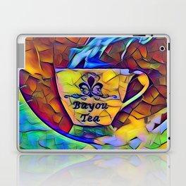 Bayou Tea Logo Laptop & iPad Skin