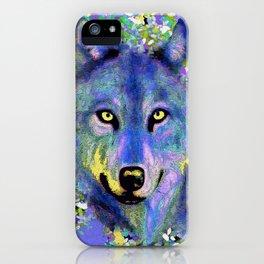 WOLF IN THE GARDEN iPhone Case
