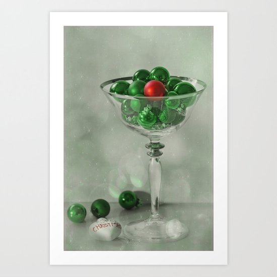 the red bauble Art Print