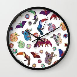 Brazustralia Wall Clock