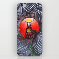 evil iPhone & iPod Skins featuring Evil by Valentina Gruer
