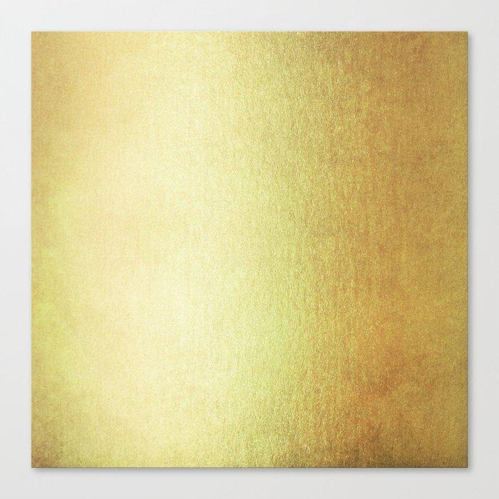 Simply 24K Gold Canvas Print