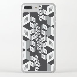 Socialization Clear iPhone Case