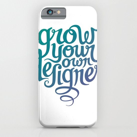 Grow Your Own Designer iPhone & iPod Case