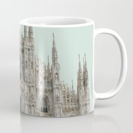 Duomo di Milano, Milan Travel Artwork Coffee Mug