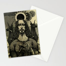 Louder than Love (Black & White) Stationery Cards