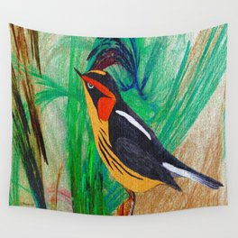 Songster Wall Tapestry