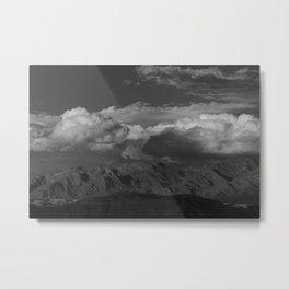 Virgin Mountains - B & W Metal Print