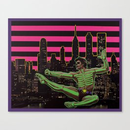 Skeleman Canvas Print