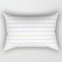 plus you're a fool Rectangular Pillow