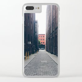 Richmond, Shockoe Bottom, September 2016 Clear iPhone Case