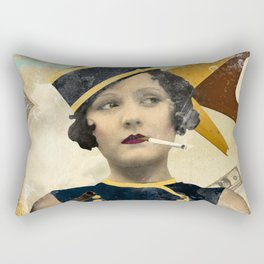 The Waitress Rectangular Pillow