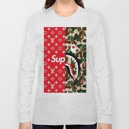 supreme bape Long Sleeve T-shirt