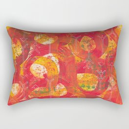 Directions Rectangular Pillow