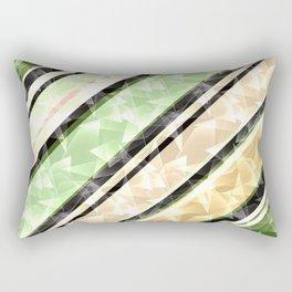 Bright stripes, diagonal Rectangular Pillow