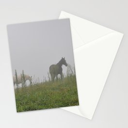 Friends in the mist Stationery Cards