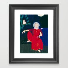 Wise Woman Framed Art Print